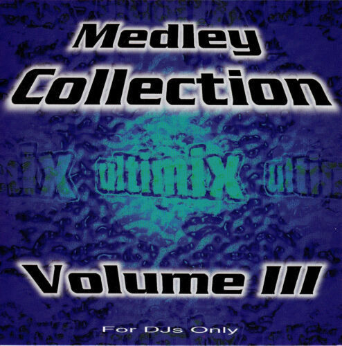 Ultimix MEDLEY COLLECTION VOL 3 CD (2 CD SET)